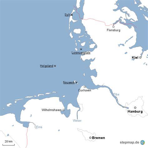deutsches büro grüne karte hamburg nordsee deutsche bucht 2 mgrebe landkarte f 252 r