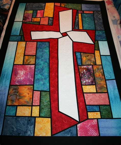 Quilted Church Banner Patterns Free cross quilt pattern search church quilt banners decorations cross quilt
