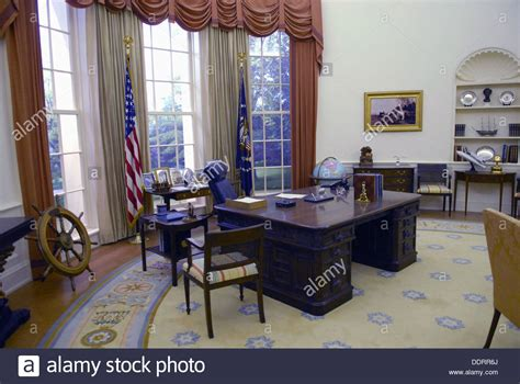 oval office white house presidents white house oval office at gerald r ford presidential stock photo royalty free image
