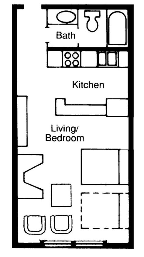 kitchenette floor plans 76 best images about suite ideas on kitchenettes one bedroom and small