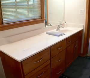 Cultured Marble Vanity Tops Columbus Ohio White Marble Top With Single Sink Placed On The Brown