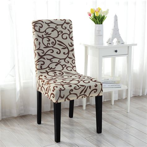 Stretch Dining Room Chair Covers Stretch Spandex Dining Room Wedding Banquet Chair Cover Decor Washable Slipcover
