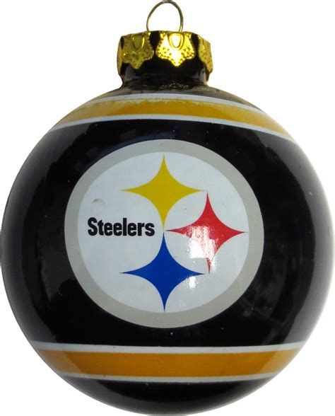 pittsburgh steelers quot the steel curtain quot glass ball