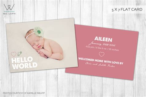 new born card template new born card template hello world card templates on