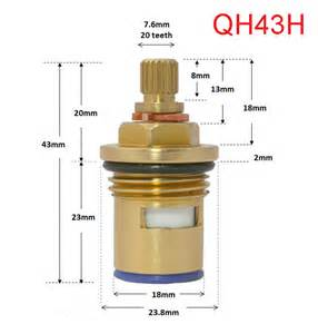 Replacing A Kitchen Sink Faucet replacement ceramic disc cartridges tap valves quarter
