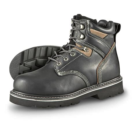 western chief shoes s western chief 174 steel toe boots black 160076 work