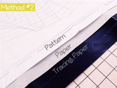 Tracing Paper For Pattern - how to trace sewing patterns by a fashionable stitch