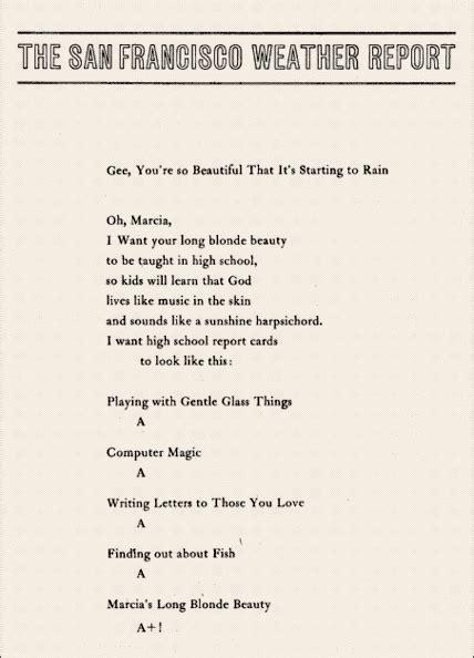 brautigan poems richard brautigan velvetmedia