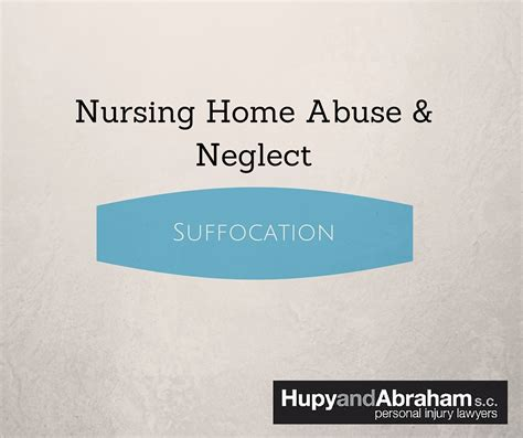 nursing home neglect can cause resident suffocation hupy