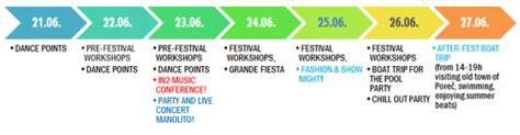 7th anniversary croatian summer salsa festival rovinj 2011 - The Open Boat Timeline