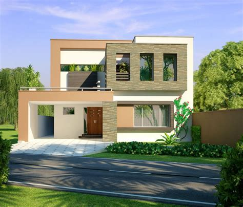 3d front elevation 10 marla modern home design 3d
