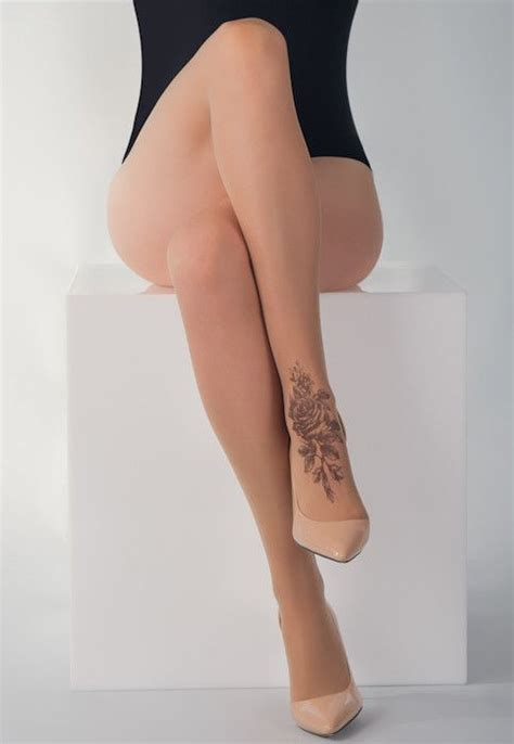 tights tattoo designs shaded sheer tights