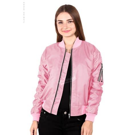 Jaket Bomber Wanita Original Maroon Masoundeffext Sq jaket parasut wanita terbaru jaman now