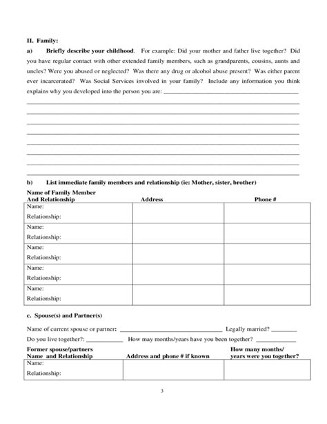 Presentence Investigation Report Form Nevada Free Download Presentence Investigation Report Form