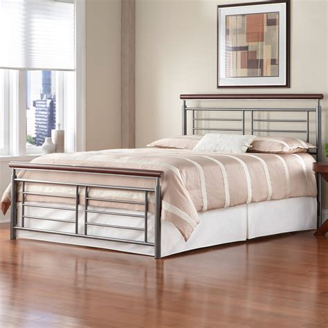 modern metal bed fontane iron bed silver cherry metal contemporary design