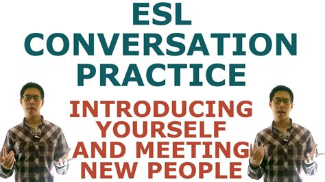 speaking english esl conversation practice introducing
