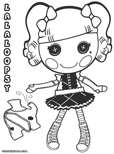 lalaloopsy coloring pages mittens lalaloopsy coloring pages mittens