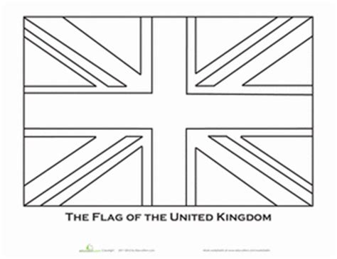 coloring page union jack flag the gallery for gt union jack coloring page