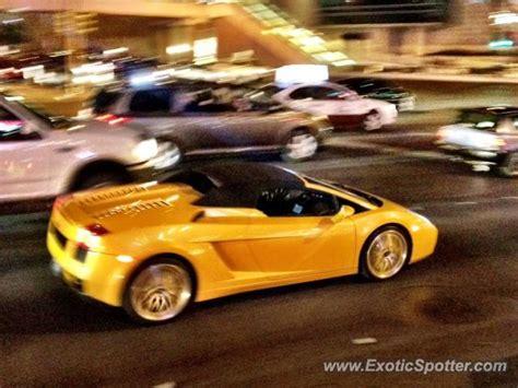 Las Vegas Lamborghini Lamborghini Gallardo Spotted In Las Vegas Nevada On 04 23