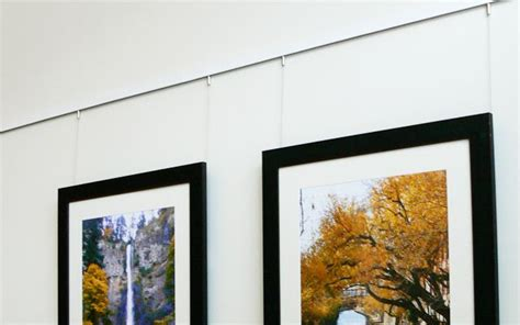 the ultimate guide to hanging framed art for a beautiful modern cable rail system for hanging art arakawa hanging