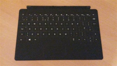 surface pro keyboard light surface touch cover 2 back light keyboard for sale in