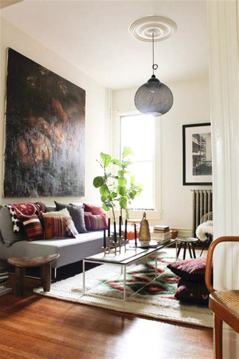 modern chic living room ideas bohemian decor ideas adding chic and color to small living room