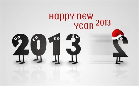 wallpaper new year cartoon est100 一些攝影 some photos happy new year 2013 新年快樂 2013年