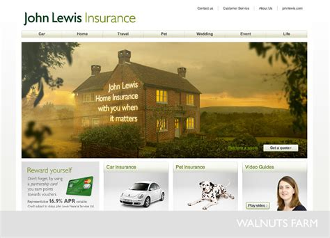 john lewis house insurance john lewis home insurance billboard and web banner ad shot at walnuts farm walnuts