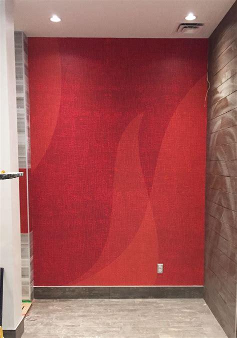 Lava L Wall by Impression Et Installation De Graphique Murale Pour