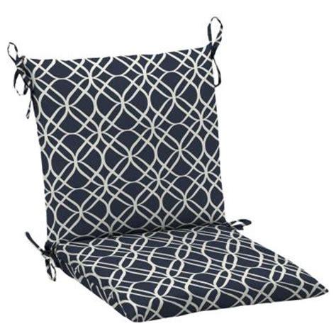 Patio Chair Cushions Mid Back Hton Bay Midnight Sandollar Mid Back Outdoor Chair