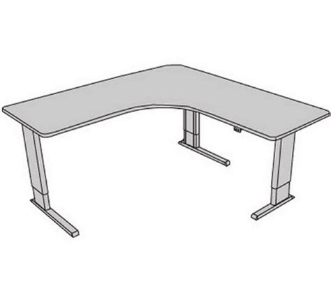 Infinity Adjustable Perfect Corner Desk Free Shipping Adjustable Corner Desk