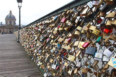 images of love lock bridge pont des arts love padlocks a look at the most romantic