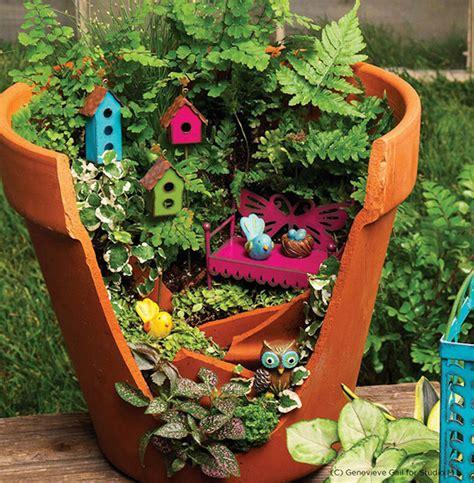 Pot Garden by Turn Broken Pots Into Brilliant Diy Gardens Facts