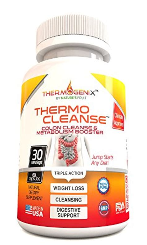 Detox And Colon Cleanse Pills by Thermocleanse Thermogenic Colon Cleanse The Best