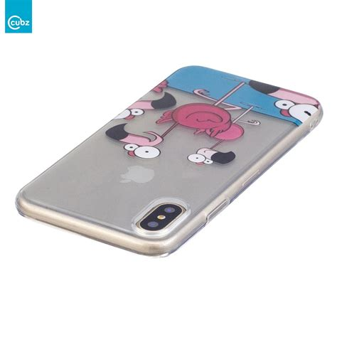 Iphone X Duck husa iphone x cubz gel tpu ultra thin duck