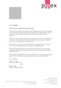 Follow up letter shown