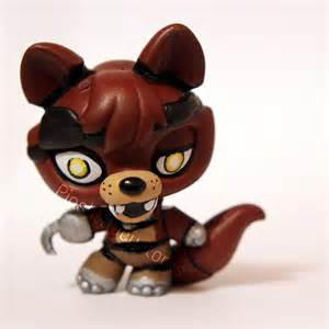 Foxy from fnaf lps custom by pia chu on deviantart