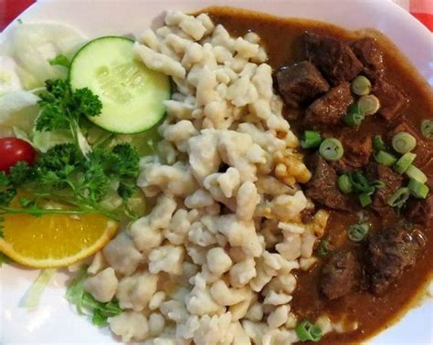 schnitzel house ormond hungarian goulash with spaetzels picture of european