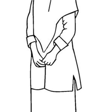 gambar mewarnai gambar muslim kartun anak muslimah hitam