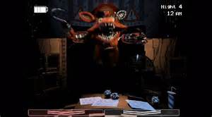 Screenshot old foxy foxy five nights at freddys