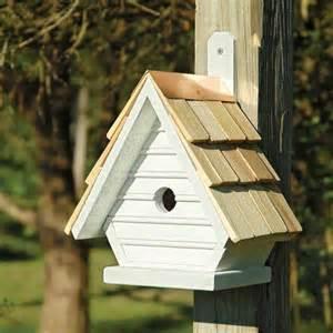 Chick post tree bird house yard envy