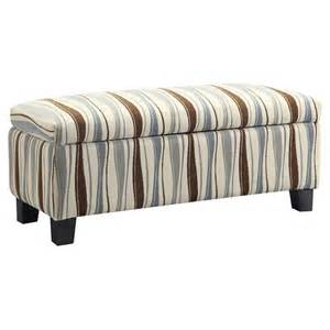 striped storage ottoman 1000 images about storage ottomans on pinterest