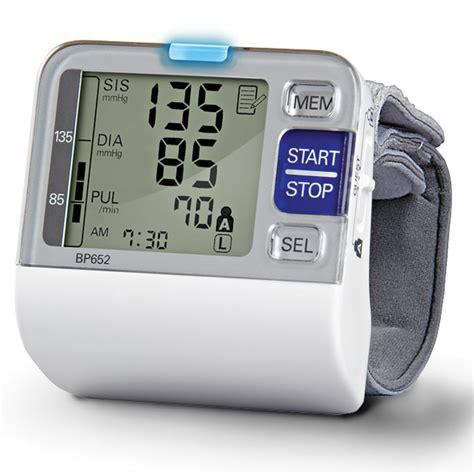 the best wrist blood pressure monitor hammacher schlemmer