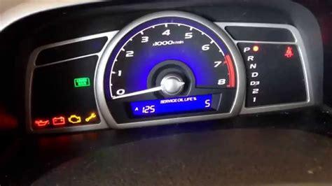 honda civic engine light reset check engine light 2001 honda civic