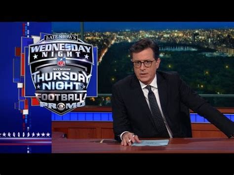 A Frenzy On Late Show Tomorrow Wednesday by Late Show S Wednesday Thursday Football Promo