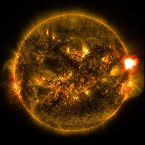 sun light solar notable solar flare of 2015 nasa