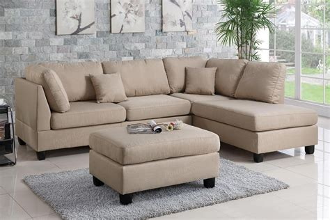 brown fabric sectional sofa brown fabric sectional sofa and ottoman steal a sofa