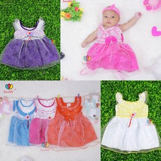 Dress Bayi 8 12 Bulan gaun baby uk 0 12 bulan dress baby murah baju