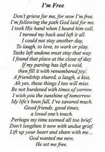 For dad the poem we used for my dad s funeral quotes grief dad s