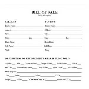 pic car bill of sale printable sell a car truck motorcycle rv or